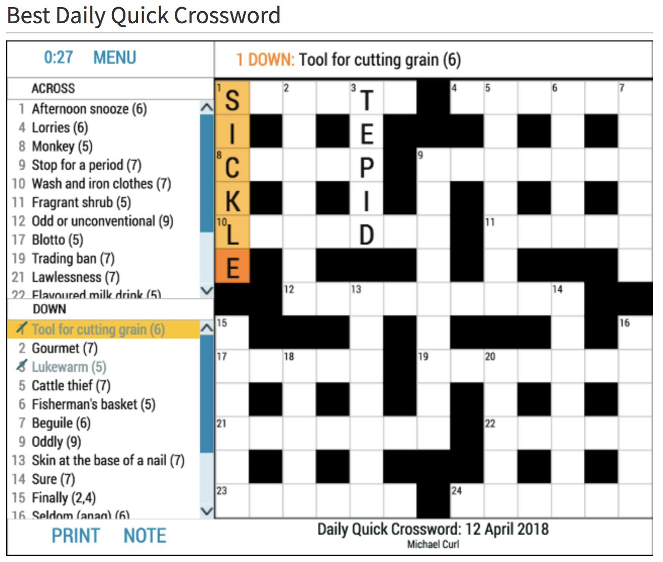 How To Play Crossword Puzzles Crosswordresources Com